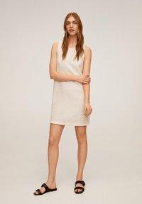Mango - JACAB6 - Korte jurk - ecru - 1