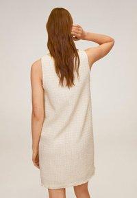 Mango - JACAB6 - Korte jurk - ecru - 2