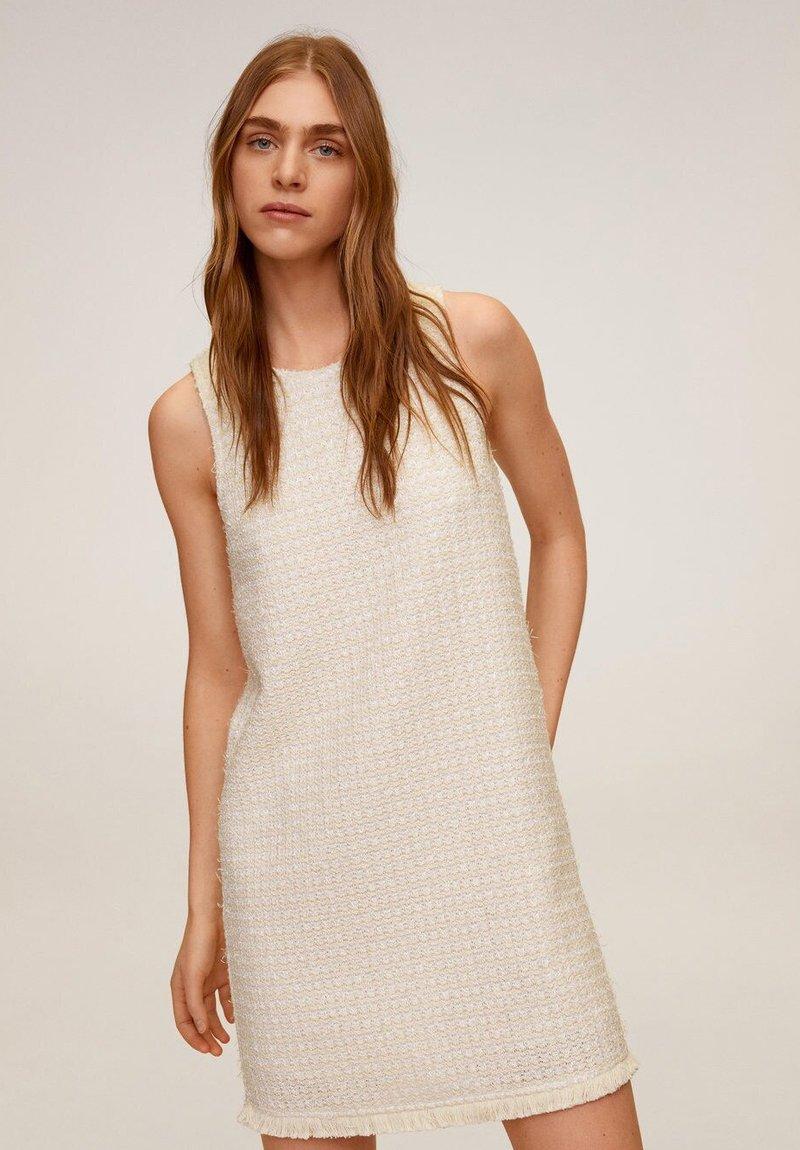 Mango - JACAB6 - Korte jurk - ecru
