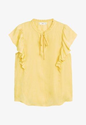 FULPLIT - Blouse - gelb