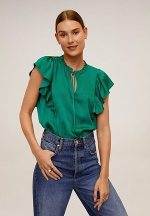 FULPLIT - Bluse - grün