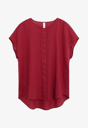 FREEMAN - Blouse - grenat