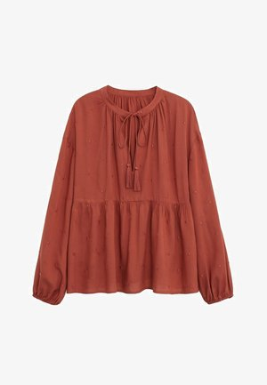 FEATHER - Blouse - rosso