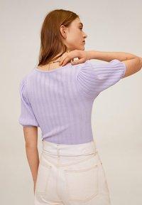 Mango - NOELIA - T-shirts basic - violet clair/pastel - 2