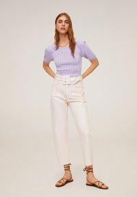 Mango - NOELIA - T-shirts basic - violet clair/pastel - 1