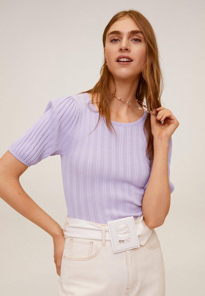 Mango - NOELIA - T-shirts basic - violet clair/pastel
