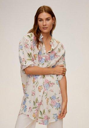 LONGUI - Button-down blouse - weiß