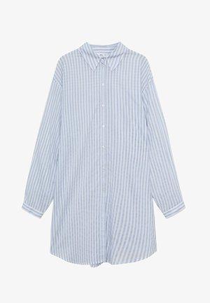 LONGUI - Button-down blouse - blau