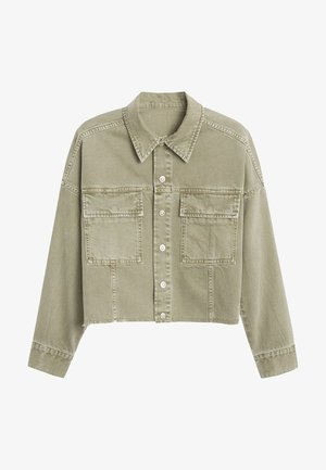 MELISSA - Kurtka jeansowa - khaki