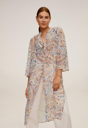 LANGE MIT PAISLEYMUSTER - Tuniek - orange