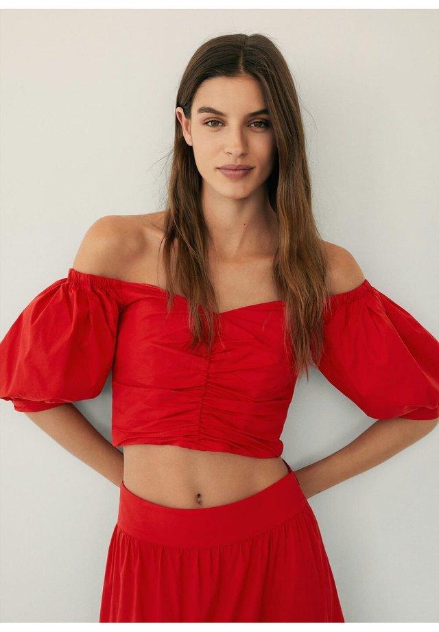 VENICE - Bluse - rouge