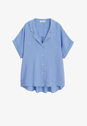 DOLS - Button-down blouse - marineblau