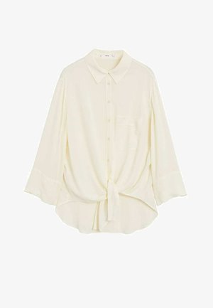 LEASLE - Button-down blouse - cremeweiß