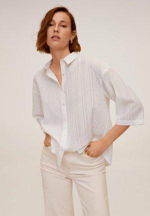 DAD - Button-down blouse - blanc cassé