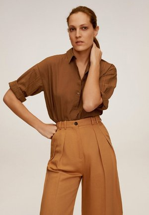DAD - Button-down blouse - marron