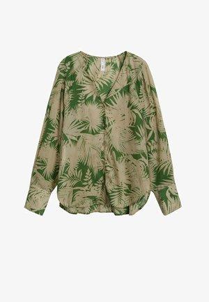 TROPISCHEM - Button-down blouse - grün