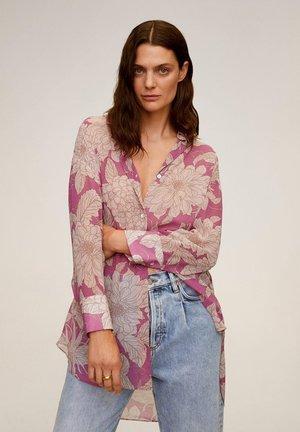 TUKU - Button-down blouse - sable