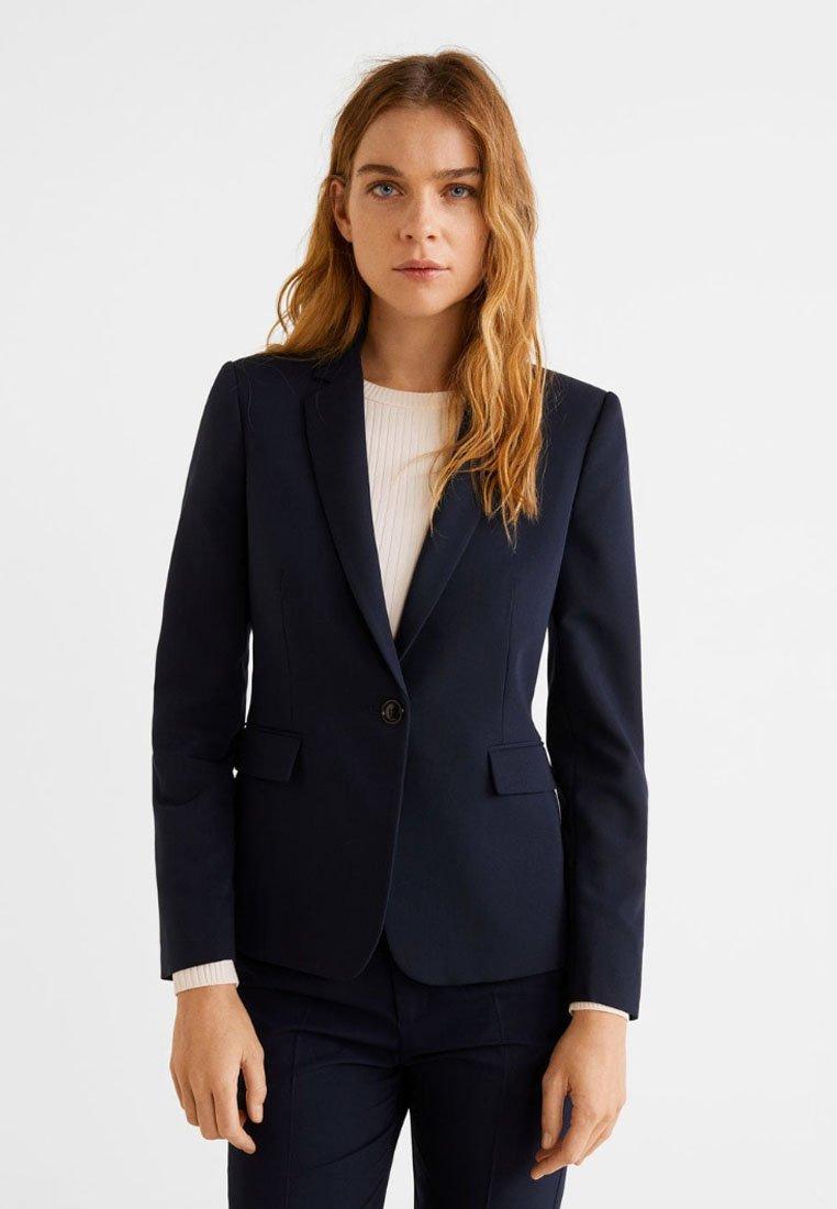 Mango - BOREAL - Blazer - dark navy blue