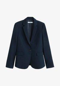 Mango - BOREAL - Blazer - dark navy blue - 5