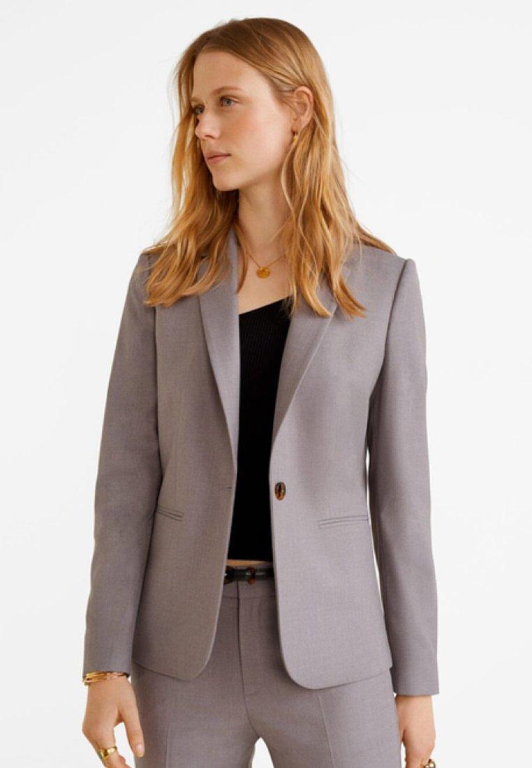 Mango - BOREAL - Blazer - grey