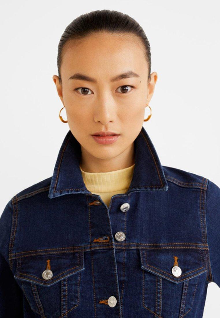 Mango VICKY - Veste en jean dark blue