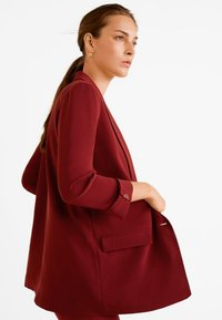 Mango - ELEONOR - Short coat - red - 3