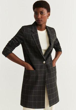 SUGUS - Short coat - mottled grey