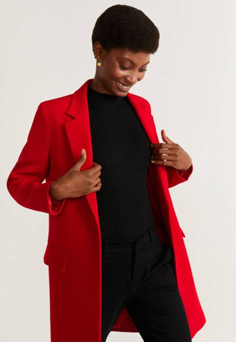 Mango - SUGUS - Short coat - red