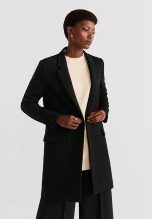 SUGUS - Short coat - black