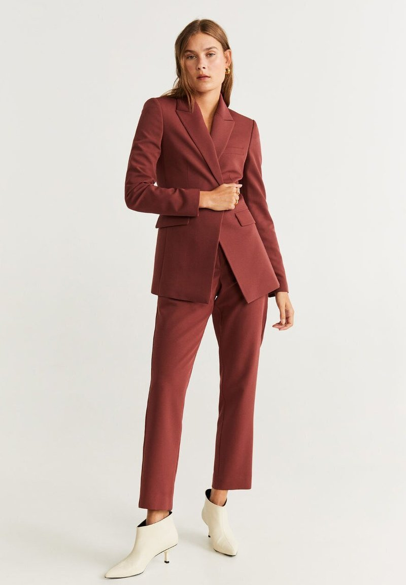 Mango - OFFICE - Manteau court - red brown