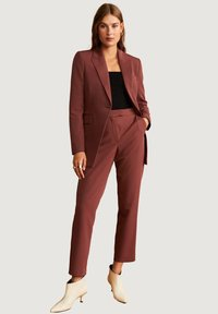 Mango - OFFICE - Manteau court - red brown - 1