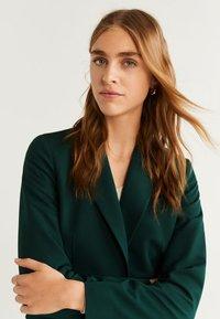 Mango - OFFICE - Short coat - dark green - 5