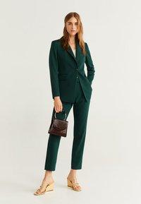 Mango - OFFICE - Short coat - dark green - 1