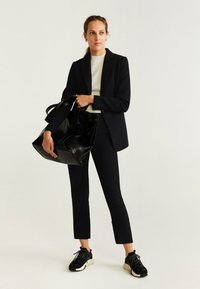Mango - GOLD - Blazer - black - 1