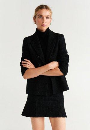 CAROLA - Blazer - black