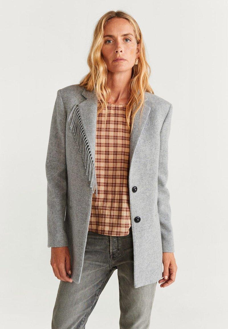 Mango - FLECO - Blazer - light gray