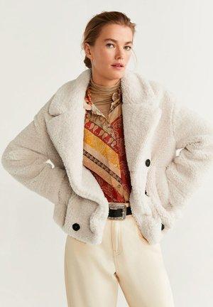 COPITO - Fleece jacket - beige