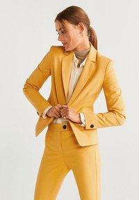 Mango - COFI - Blazer - mustard yellow - 0