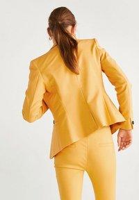 Mango - COFI - Blazer - mustard yellow - 2
