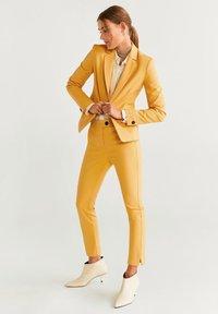 Mango - COFI - Blazer - mustard yellow - 1