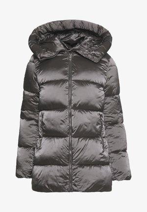 STEPP ANORAK MIT KAPUZE - Płaszcz zimowy - silber