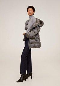 Mango - TULIPA - Winter jacket - silver - 2