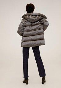 Mango - TULIPA - Winter jacket - silver - 1