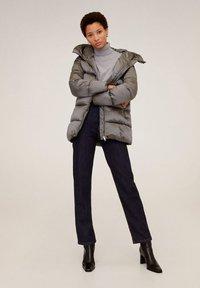 Mango - TULIPA - Winter jacket - silver - 0