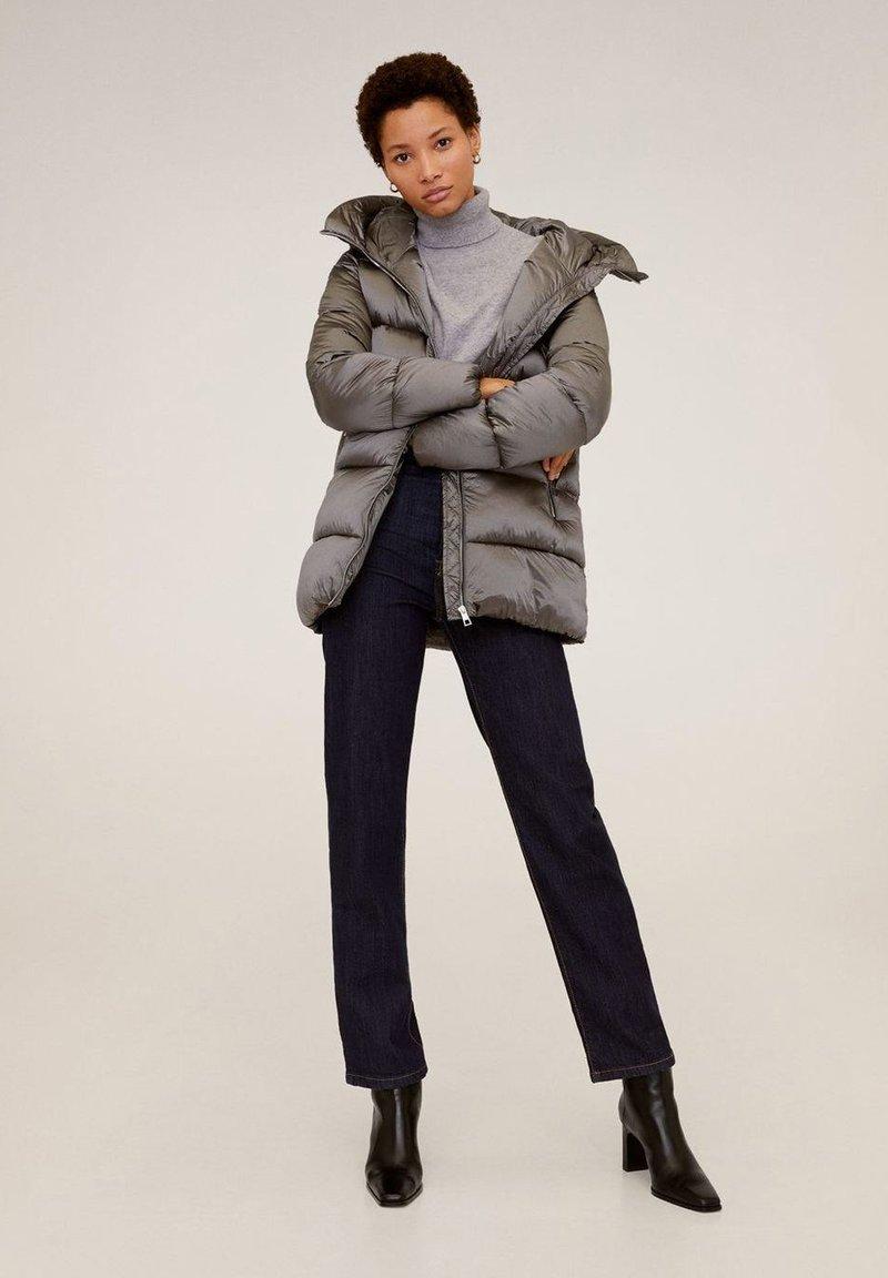 Mango - TULIPA - Winter jacket - silver