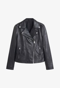 Mango - PERFECT - Leather jacket - black - 3