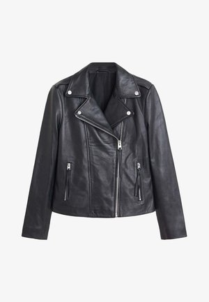 PERFECT - Veste en cuir - black