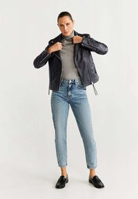 Mango - PERFECT - Leather jacket - black - 1