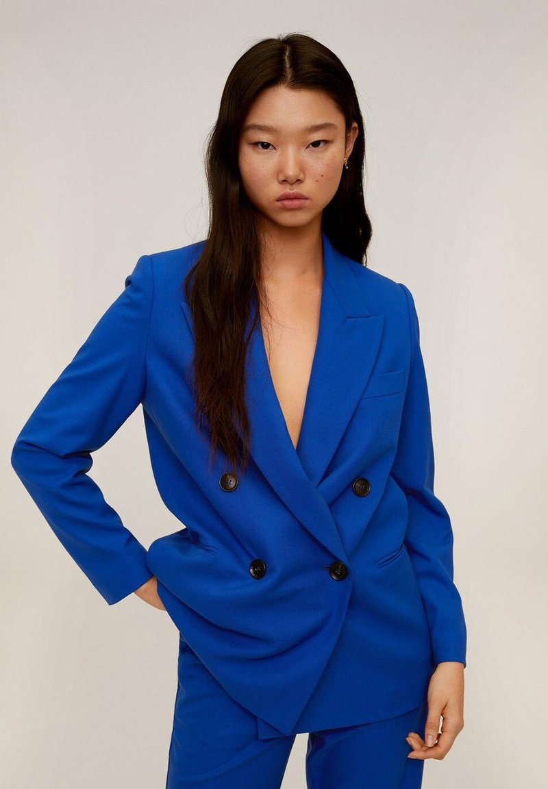 Mango - CANAS - Blazer - blau