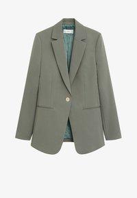 Mango - OFFICE - Short coat - grün - 3